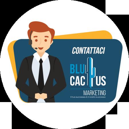 BluCactus Design di presentazione professionale Contattaci