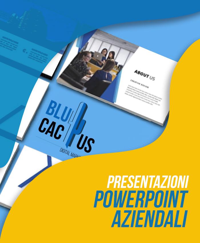 BluCactus Design di presentazione aziendali