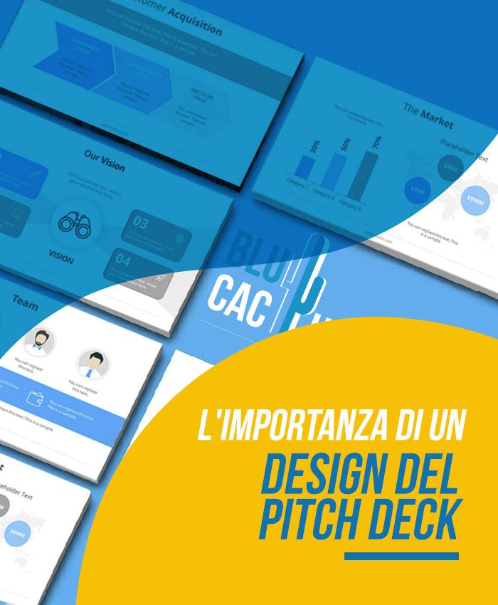 BluCactus L'importanza di un design di Pitch Deck