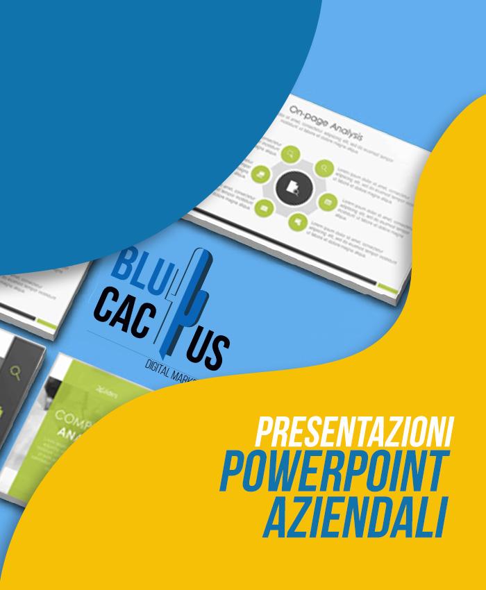 BluCactus Presentazioni PowerPoint aziendali
