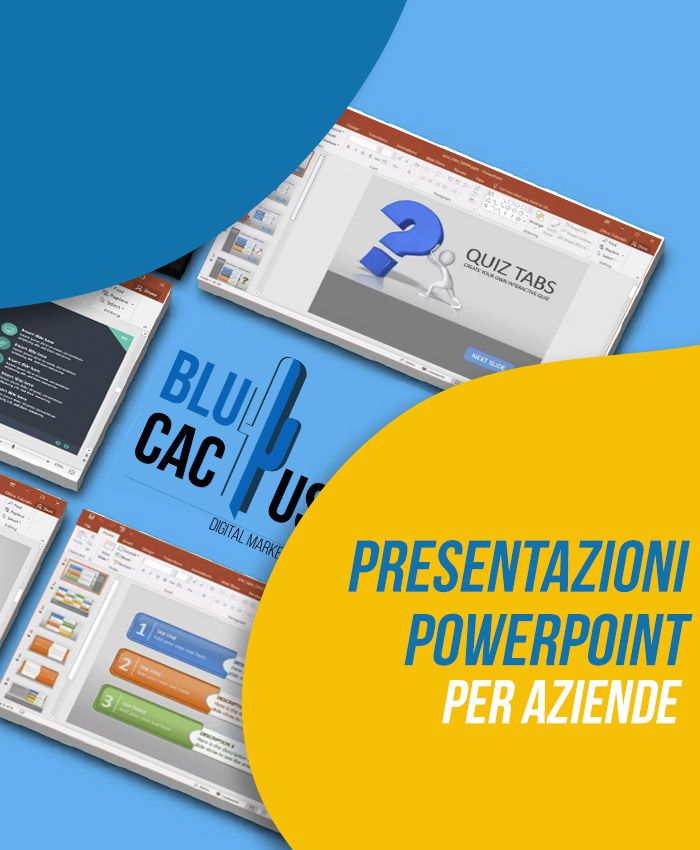 BluCactus Presentazioni Powerpoint per aziende