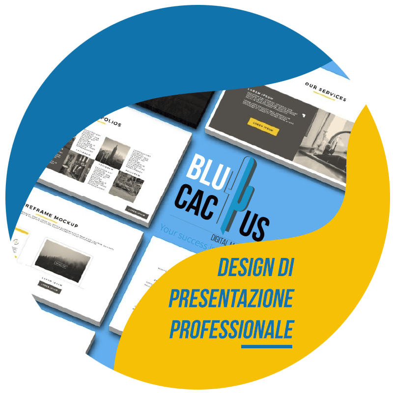 BluCactus Design di presentazione professionale