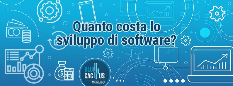 BluCactus Quanto costa lo sviluppo di software Copertina
