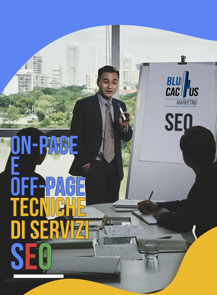 BluCactus - SEO Tecniche di servizi SEO on page e off page