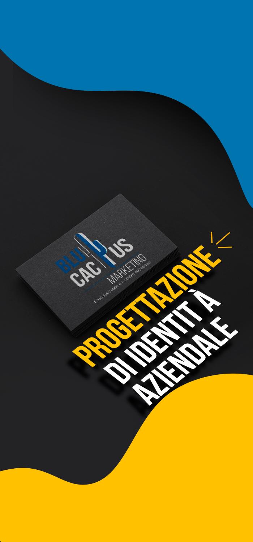 BluCactus Servizi Progettazione Grafica Progettazione di identità aziendale