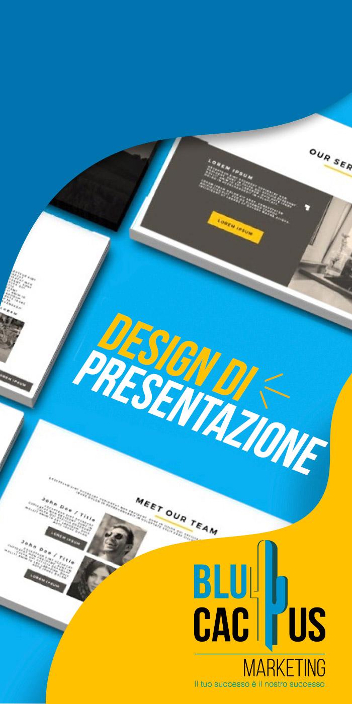 BluCactus Servizi Progettazione Grafica Design di Presentazione