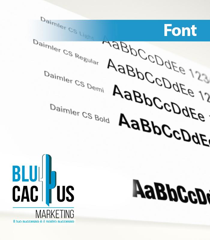 Blucactus Servizi Identità Aziendale Font