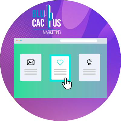 BluCactus - tendenze nel web design - hover effect