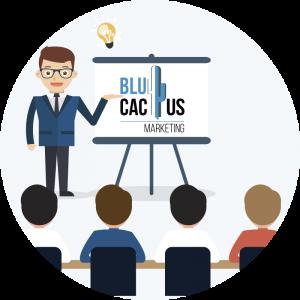 BluCactus - cos'è una presentazione? - una presentazione